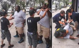 Le fasi dell'assassinio di Eric Garner da parte della Polizia di New York