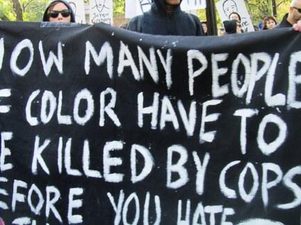 Proteste contro la brutalità delle polizie americane contro gli African Americans
