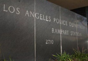 La Rampart Station della Polizia di Los Angeles