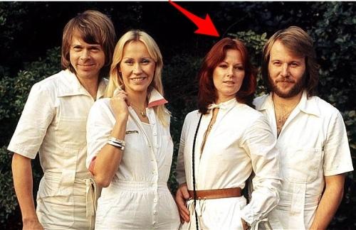 Anni-Frid Lyngstad e gli ABBA