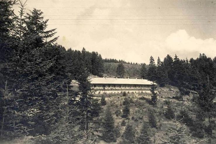 Solahütte - Centro ricreativo per ufficiali  delle SS di servizio ad Auschwitz